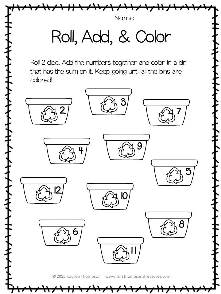 Free - Earth Day - Math - Literacy - Activities - No Prep - Print and Go  Enjoy these three free activities from my Earth Day Activities Pack.