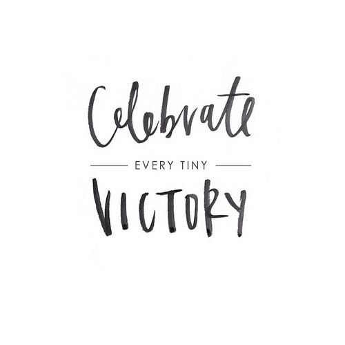 type pair, pairing, lettering, bush, hand, calligraphy, celebrate victory, quote, typography
