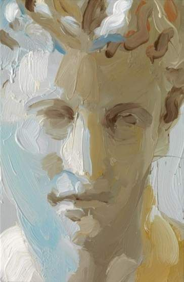52 New Ideas For Painting Oil Face Brush Strokes