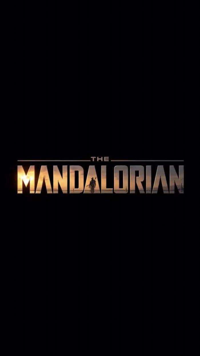 The Mandalorian minimalist phone wallpaper Mandalorian