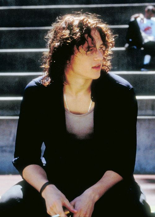 heath ledger - 10 things I hate about you. Love this movie but I liked him better as a blonde....