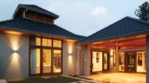 Tone down the exterior