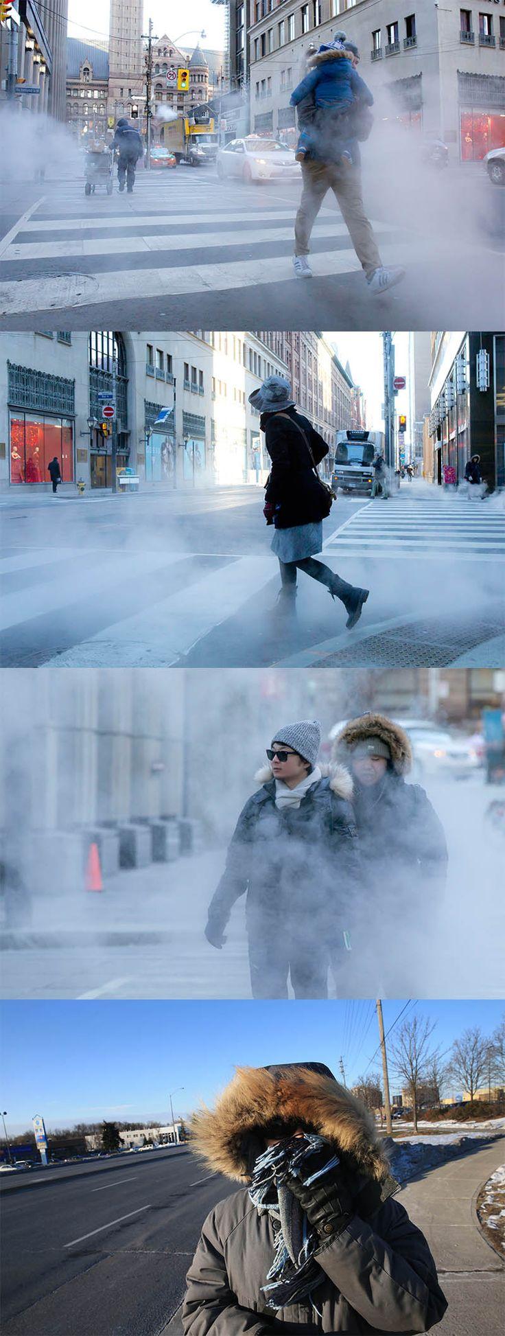 Stay warm Toronto!