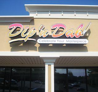 Dip 'n Dab --- 2166 Briarcliff Road  Atlanta, GA 30329  -- 404-806-8144