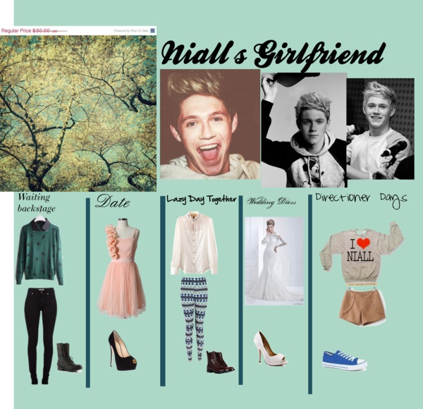 """""""Nialls girlfriend"""" by alexisraygoza ❤ liked on Polyvore"""