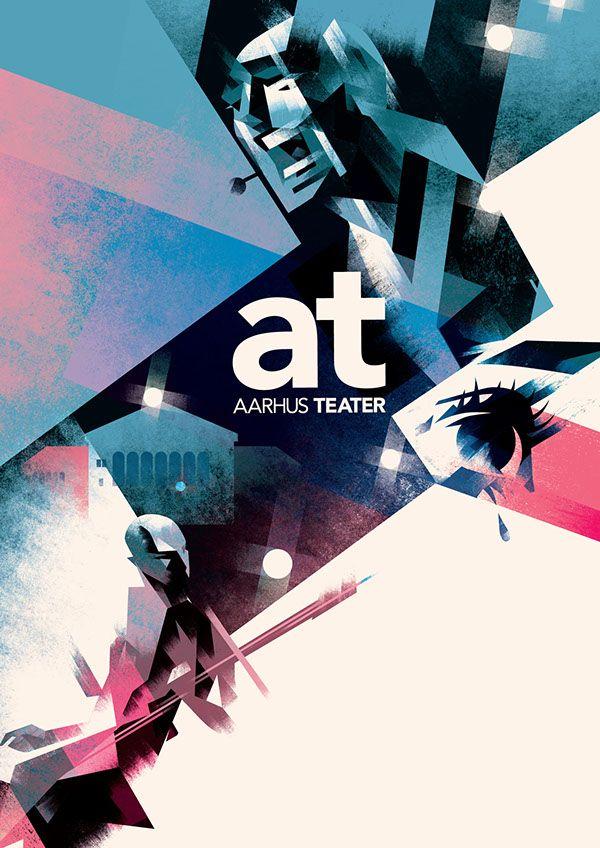 Aarhus Teater on Behance by Mads Berg