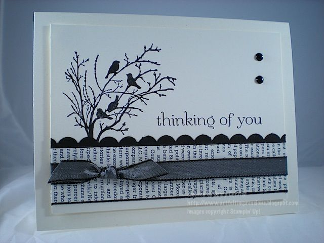 Serene Birds by pdncurrier - Cards and Paper Crafts at Splitcoaststampers
