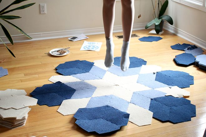Sustainable Carpets DIY CaraWonga featured on Selftimes Blog
