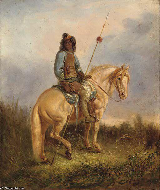 """Chilean horse purebred ,pintura de Rugendas """" Pehuenche a caballo"""""""