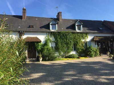 longère et chambres d'hôtes à vendre dans l'Eure à Tourny près de Giverny