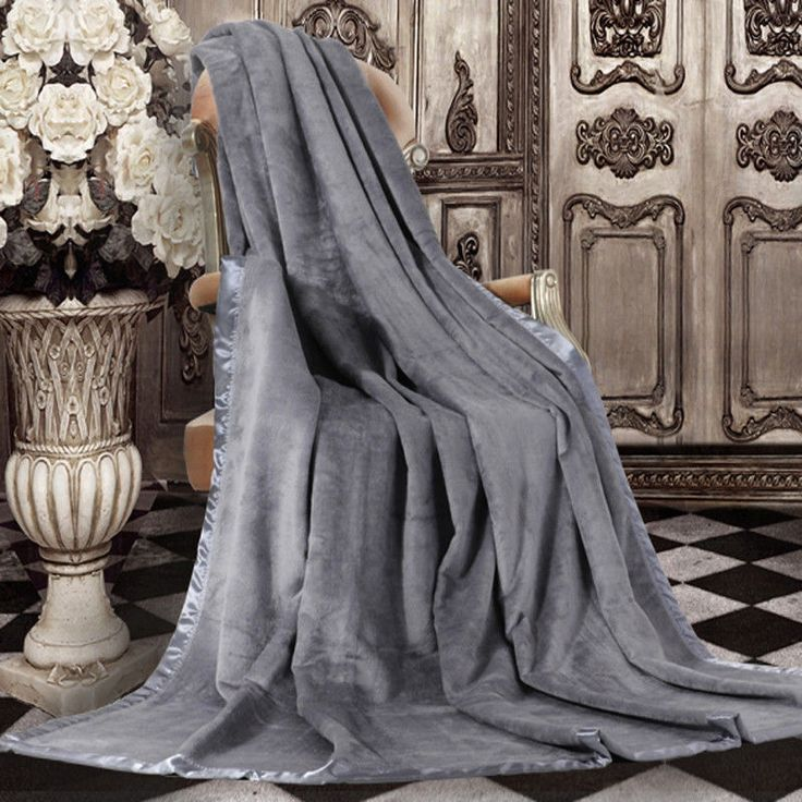 "Pure Mulberry Silk Blanket winter warm bed sheet quilt soft throws 78.8"" X 90.5"" #BEIBAO #Modern"