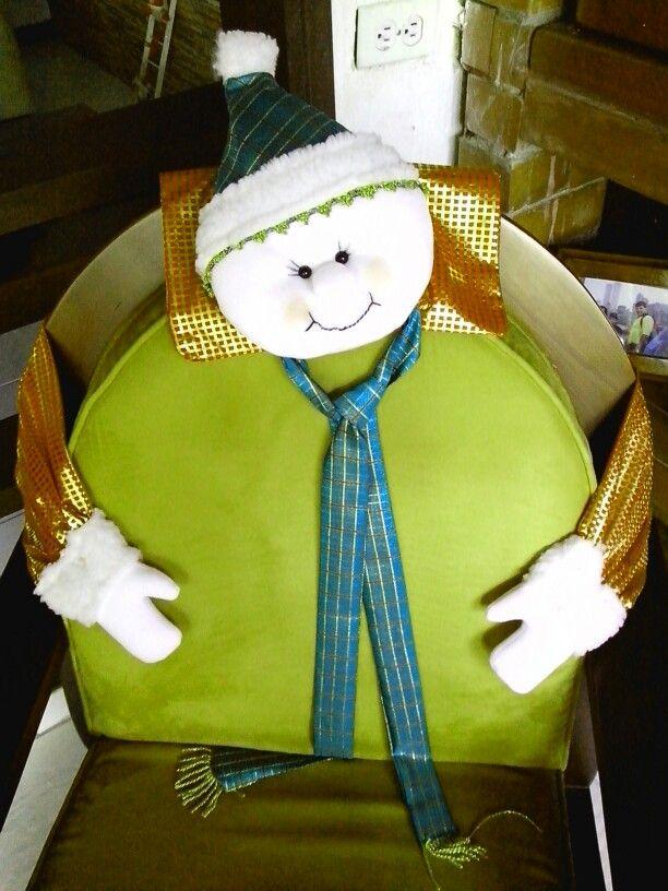Muñeco para decorar asientos