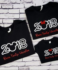 20240154b <strong>NEW FOR 2018!</strong> These amazing family vacation shirts can be  personalized with your family names or trip year. These are the perfect  shirt for ...