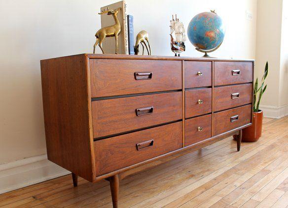 Best Mid Century Modern Lane Acclaim Dresser Modern Posts 400 x 300