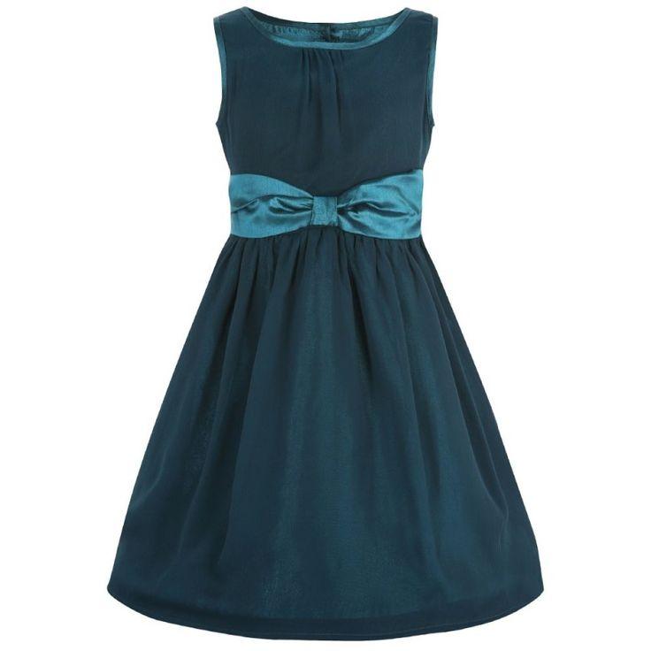 Dívčí Modré Retro Šaty Blanka Straka Lindy Bop
