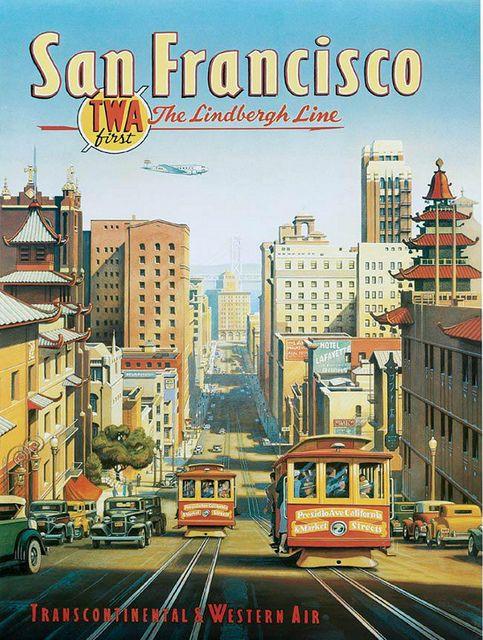 TWA for San Francisco