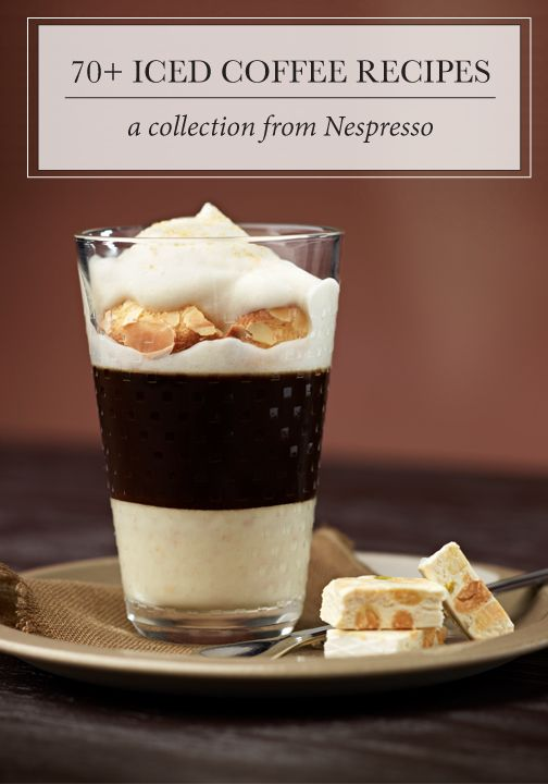 These 70 iced coffee recipes from Nespresso are sure to bring a unique flavor combination. We suggest enjoying these delicious drinks at a holiday party with co-workers, a festive gathering with friends, a moment spent with family—or any occasion, really! Click here to find your favorite.