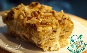 Десерт из сметаны и печенья по-гречески