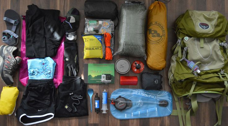 How to pack for an Appalachian Trail Thru-Hike.