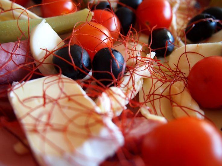 Obložená mísa s chilli nitěmi z Království chuti