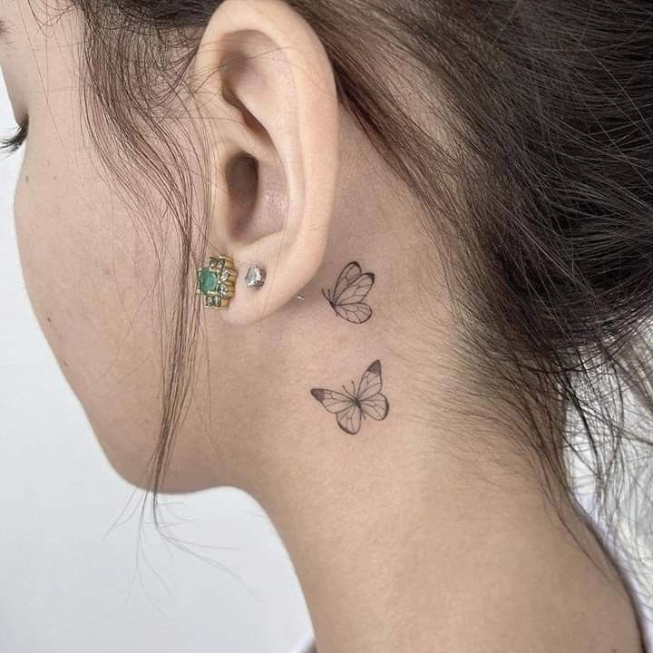 Pin de ✨ em dibujos para tatuajes   Tatuagem, Tatuagem atrás do pescoço, Tatuagem atras da orelha