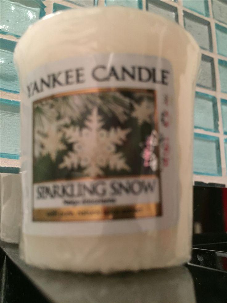 Yankee Candle Sparkling Snow - Sampler