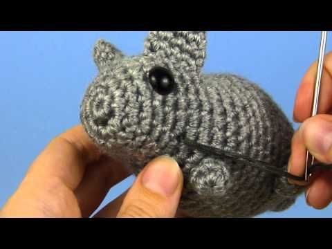 23 best tutorial amigurumi embroidering images on pinterest how to secure stitching on amigurumi ccuart Image collections
