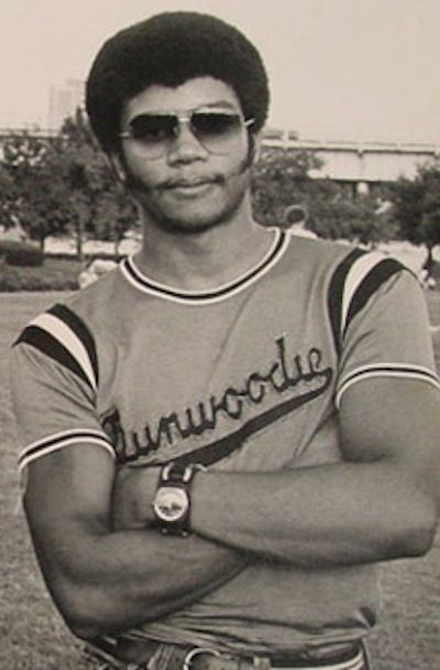 Astrophysicist, Neil deGrasse Tyson, 1980. He proves that being an intellectual badass and sexy as all hell are not mutually exclusive.