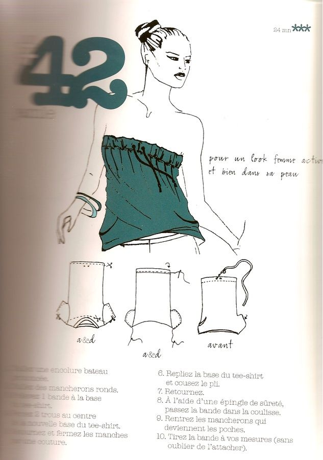 from 99 ways to cut a t-shirt / Custo tee-shirt                                                                                                                                                      More