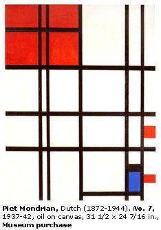 Piet Mondrian - No. 7