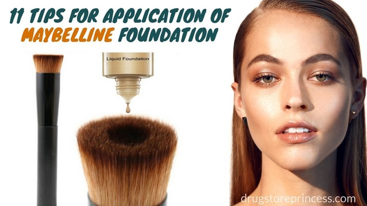 Beauty Tips: How to Apply Maybelline Foundation Like a Pro  Check out http://drugstoreprincess.com/maybelline-foundations-types-shades-and-application.html #maybelline #foundations #howtoapply #makeuptips #tips #makeup #application #drugstoreprincess