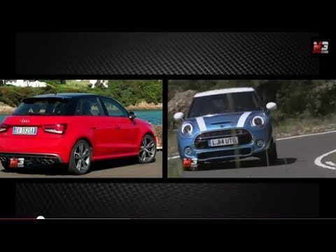 AUDI S1 SPORTBACK VS MINI COOPER S 5-DOOR 2014 - RAT RACE TWO