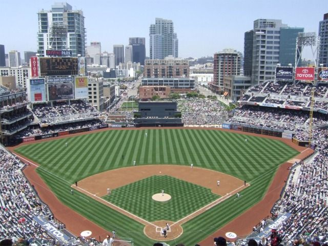 Petco Park, San Diego CA. Not a bad seat in the house.