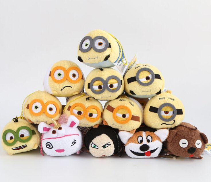 Fake Minions Tsum Tsums - Minions were created by Universal Pictures, not Disney. These are cute though!