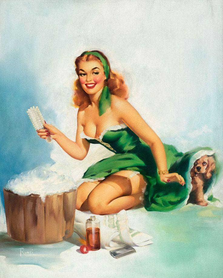 Рождеством, рисунок прикольных девушек