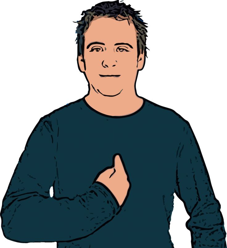 Me - British Sign Language (BSL)