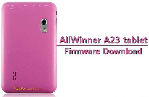 AllWinner A23 China Tablet Firmware Rom | Smartphone