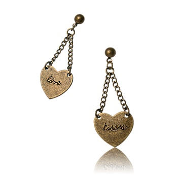 Love & Kisses Earrings    Náušnice Love & Kisses