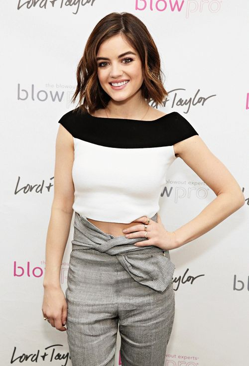 Lucy Hale hosts the 'Blowpro' Launch at Lord & Taylor in New York   January 15th, 2016