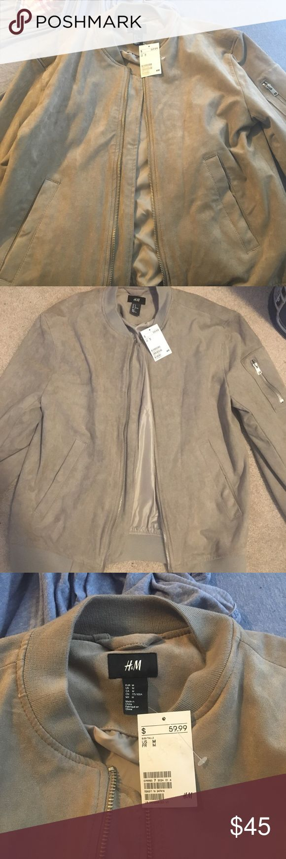 H&M bomber jacket Bomber jacket, Jackets, H&m jackets