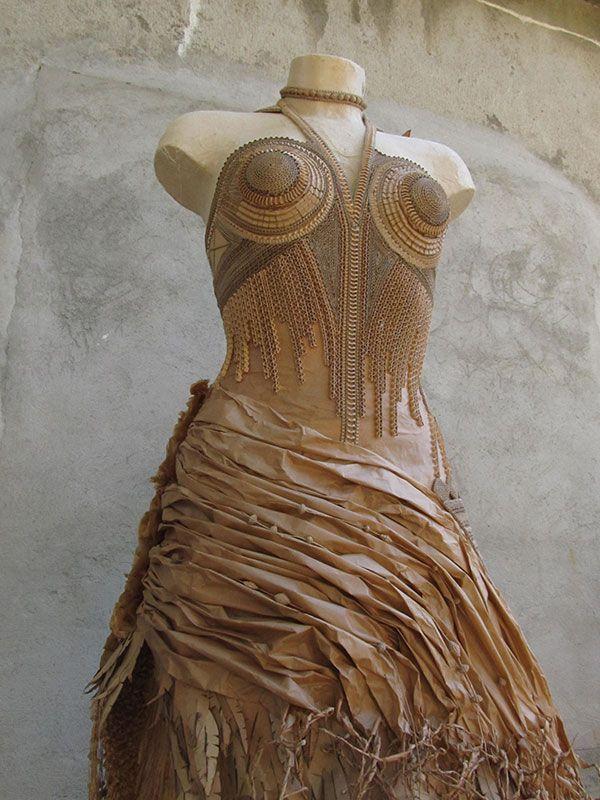 robe en carton sarreve©2016