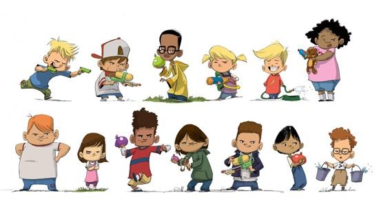 Best Character Design Courses : Best referências cartoon images on pinterest