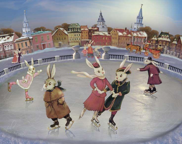 На коньках прикольные картинки, картинки прозрачном фоне