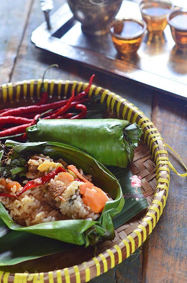 Nasi Bakar Capcay Jamur Semur Ayam Dapur Comel Selma Resep Masakan Asia Makanan Jamur