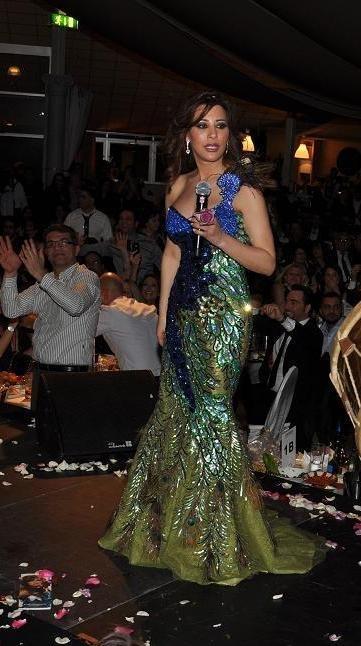 Najwa karam dress