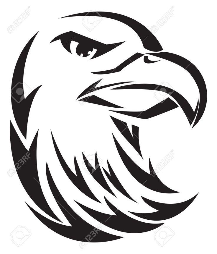 Hawk Head Stock Vector Illustration And Royalty Free Hawk Head Clipart