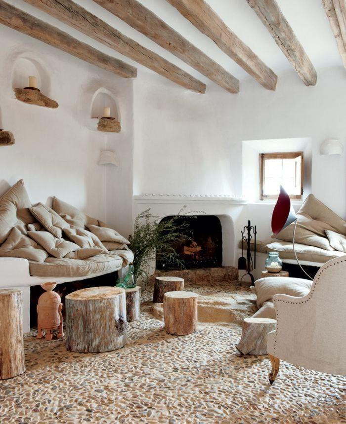 Zimmer Einrichten Ideen Wohnzimmergestaltung Ideen Rustikal Gemutlich Rustikale Innenraume Winter Wohnzimmer Rustikales Haus