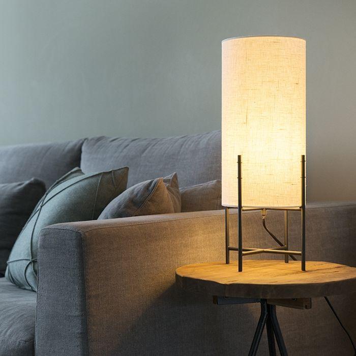 Tischleuchte Rich Weiss Mit Bildern Lampentisch Innenbeleuchtung Tischleuchte