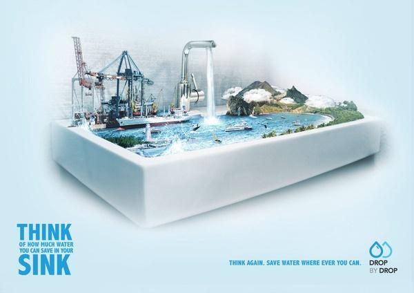 Think sink.