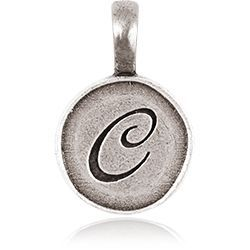 LETTER C TAG / LETTERS | ORIGAMI OWL CUSTOM JEWELRY Tagged Collection  ~